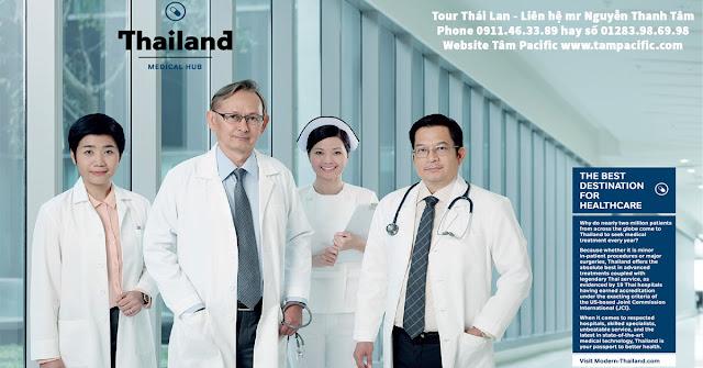 Lưu trú miễn thị thực lên đến 90 ngày khi khám chữa bệnh tại Thái Lan