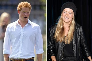 Prince Harry and Cressida Bonas celebrate Christmas separately