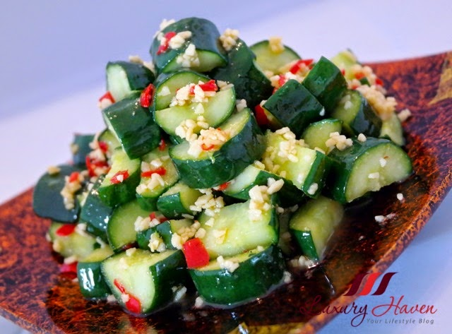 japanese cucumber with garlic recipe