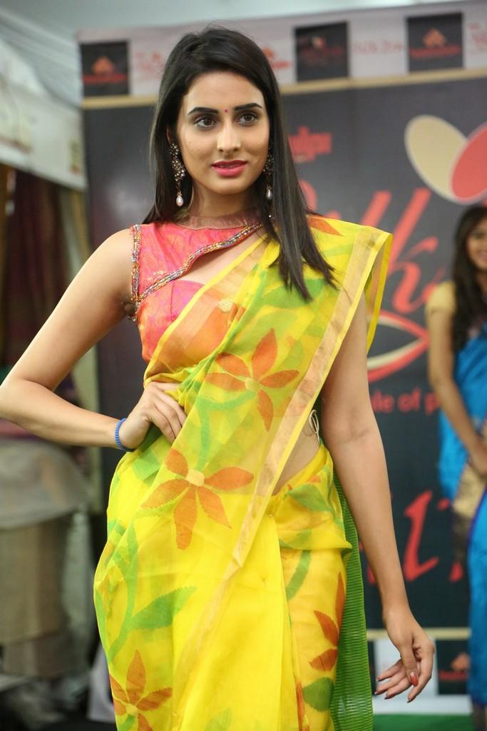 Nikita Chaturvedi At Silk India Expo 2017 Stills