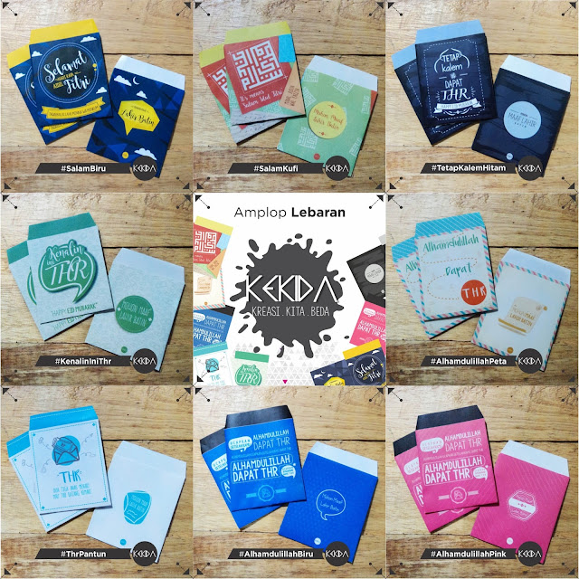 Katalog Amplop Lebaran 2017