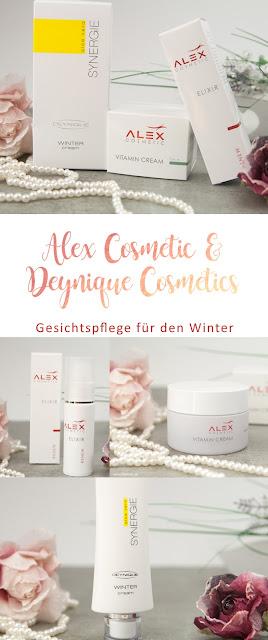 Gesichtspflege für den Winter von Alex Cosmetic und Deynique