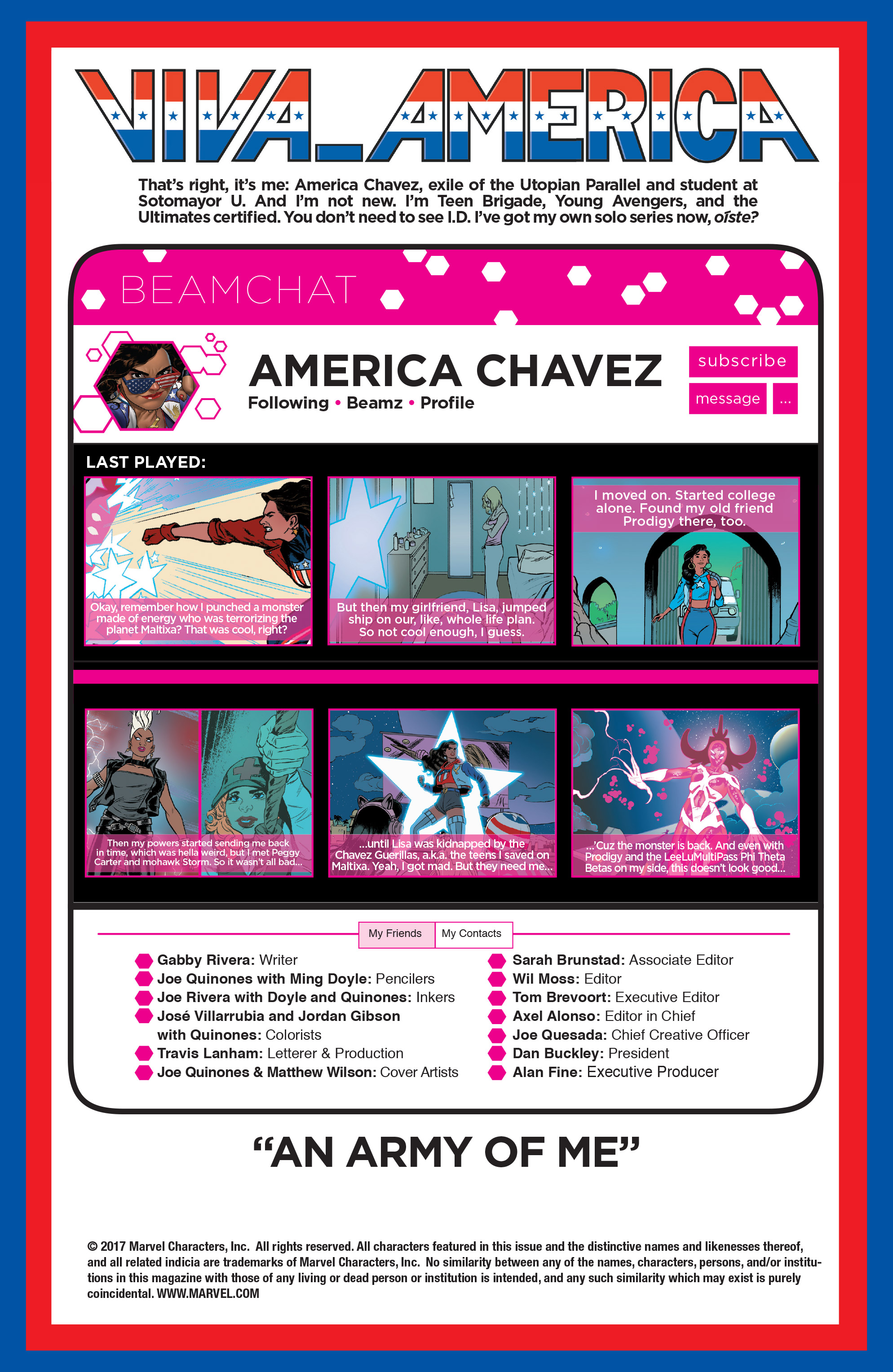 Read online America (2016) comic -  Issue #4 - 2