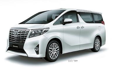 Toyota All New Alphard Surabaya