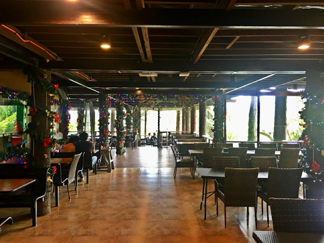 Dahilayan Forest Park Resort Cafe. If you don't want to bring foods with you, you can order at their cafe.