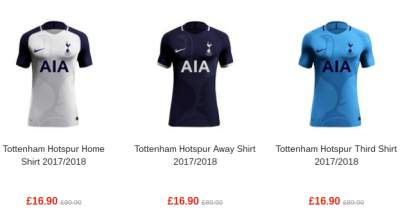 16cf3602abd New 2017/18 kit for sale in America - Tottenham Hotspur Blog News ...