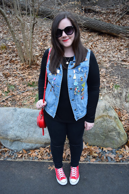Sequins and Skulls: Pops Of Red
