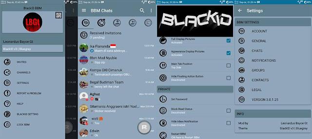 BBM MOD blackID v3 Bluegrey edition v3.0.1.25