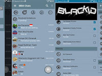 BBM MOD blackID v3 Bluegrey edition v3.0.1.25 Apk Terbaru Gratis Download