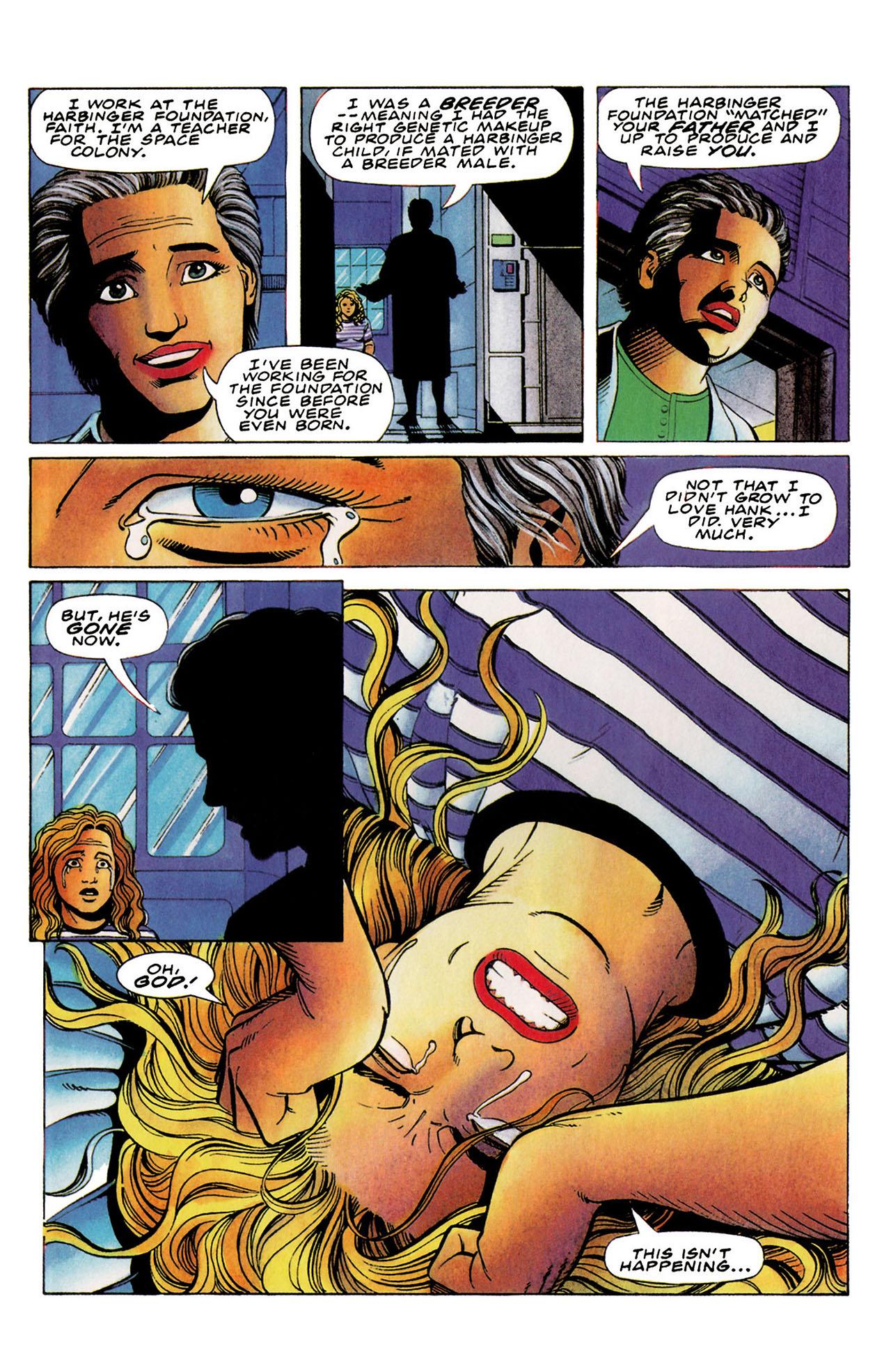 Read online Harbinger (1992) comic -  Issue #35 - 16
