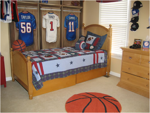 Young Boys Sports Bedroom Themes ~ Room Design Ideas
