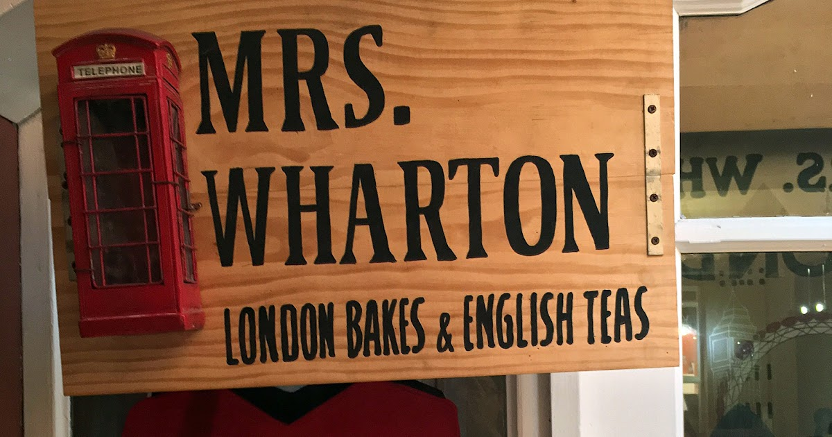 Mrs. Wharton's London Bakes and English Teas: Bites of Delectible English Sweets in Iloilo City