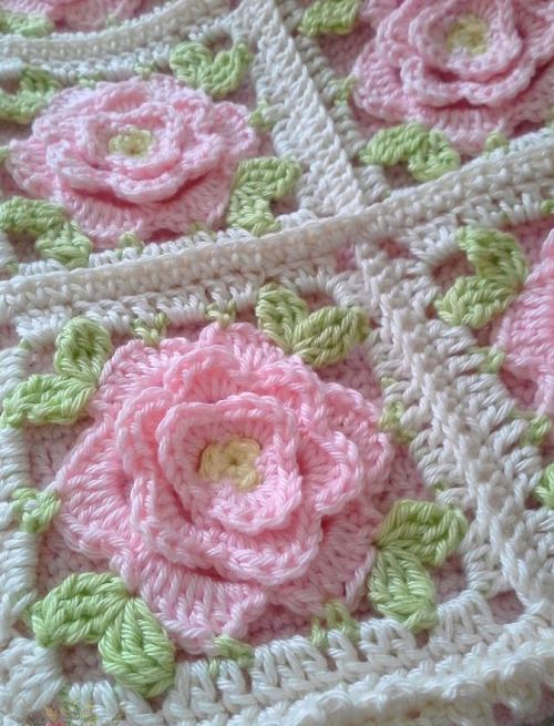 Babouchka Rose - Free Crochet Diagram