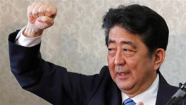 Japanese Prime Minister Shinzo Abe dissolves parliament ahead of snap polls
