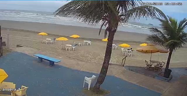 câmera ao vivo do bar da praia peruibe