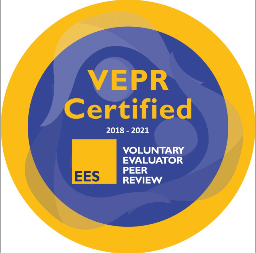Your certified evaluator