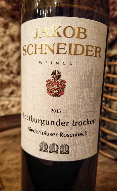 Spätburgunder Weingut Jakob Schneider