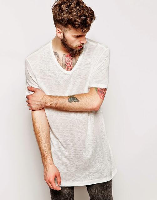 LongLine T-Shirt e Oversized Tee, como usar camisa longa
