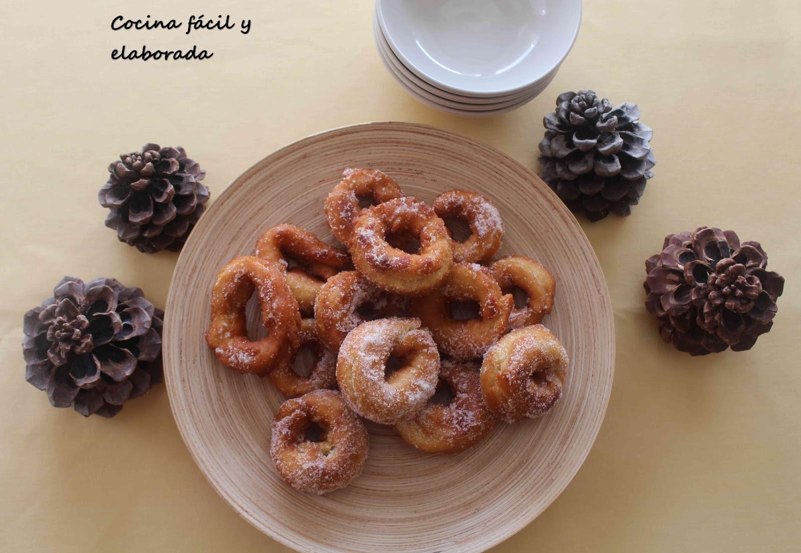 Cocina facil y elaborada rosquillas fritas de la abuela for Cocina facil para invitados