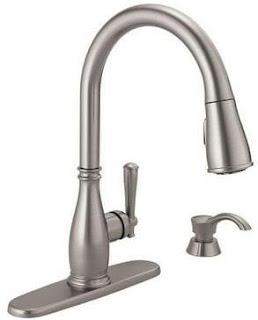 Single handle kitchen faucet