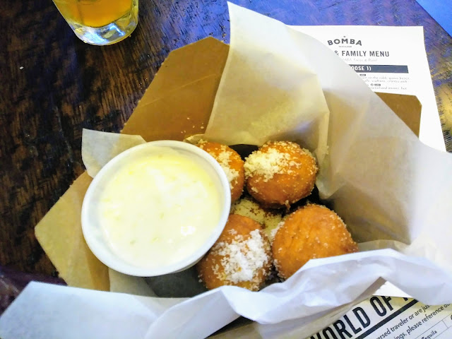Margarita doughnuts at BOMBA Beachwood