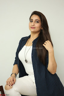 Manjusha in White Tight T Shirt and Black Jacket ~ Exclusive Celebrities Galleries 018