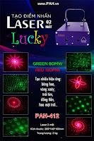Đèn laser Lucky