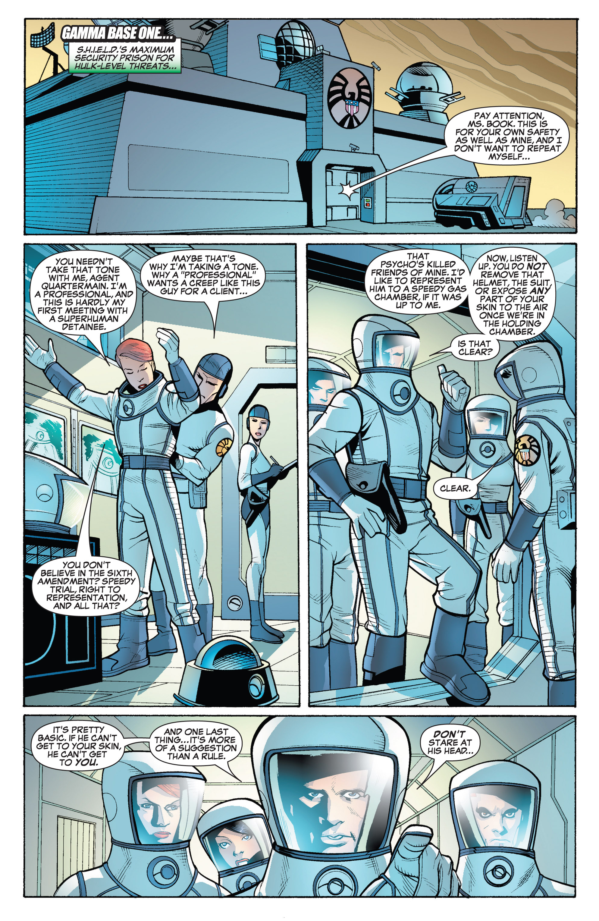 Read online She-Hulk (2005) comic -  Issue #19 - 4
