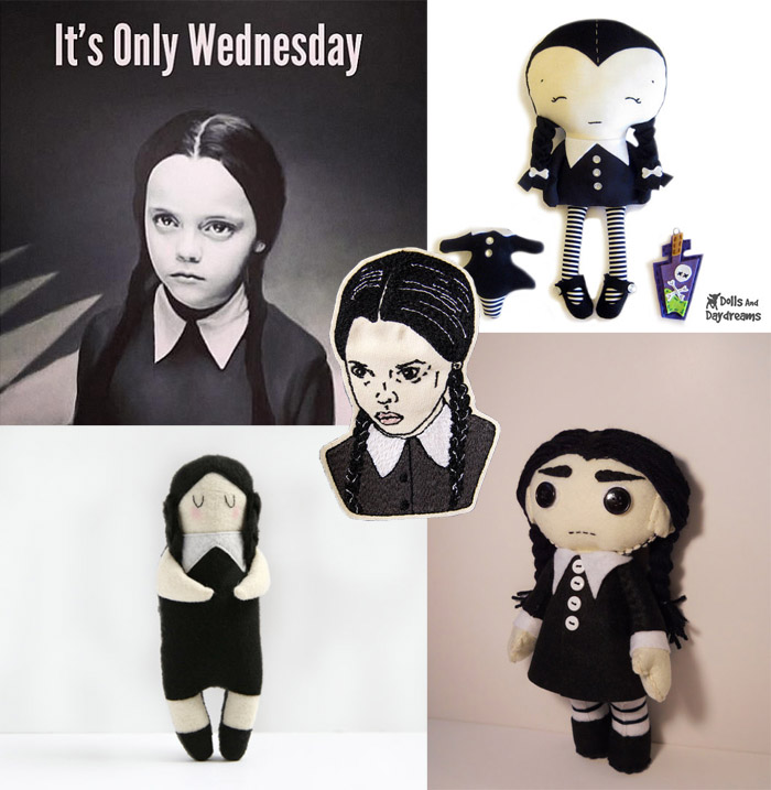 Addams family doll