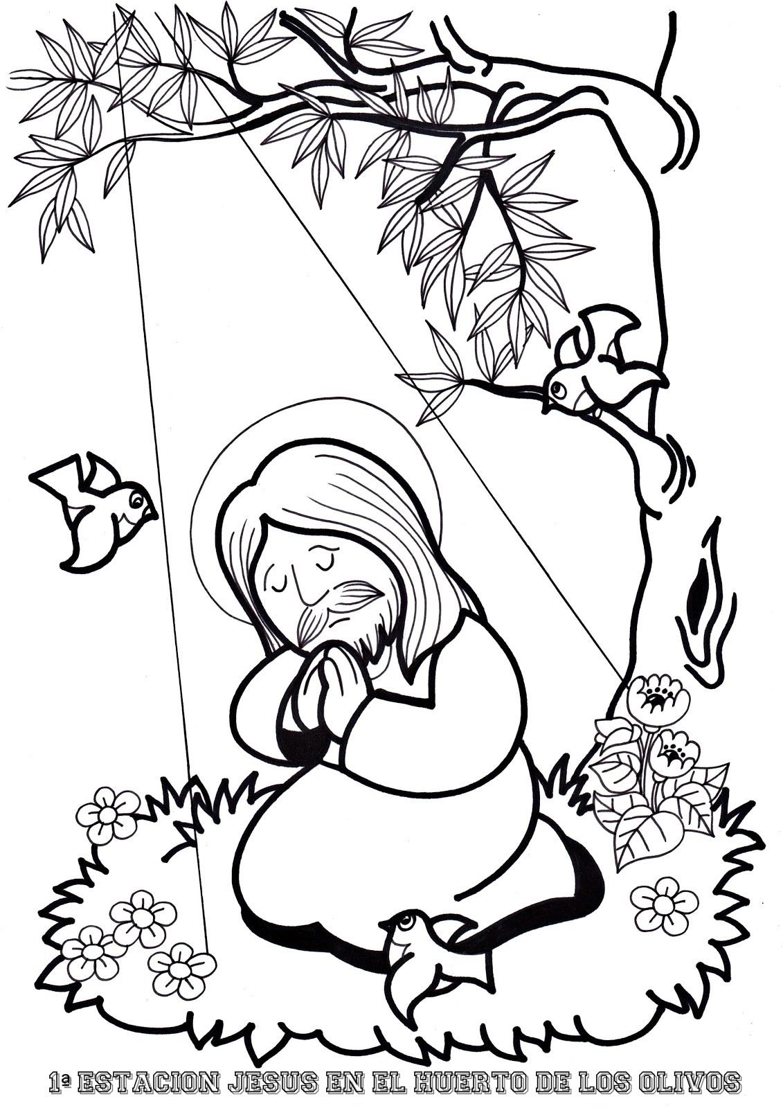 Único Páginas Católicas Para Colorear Para Niños Modelo - Enmarcado ...