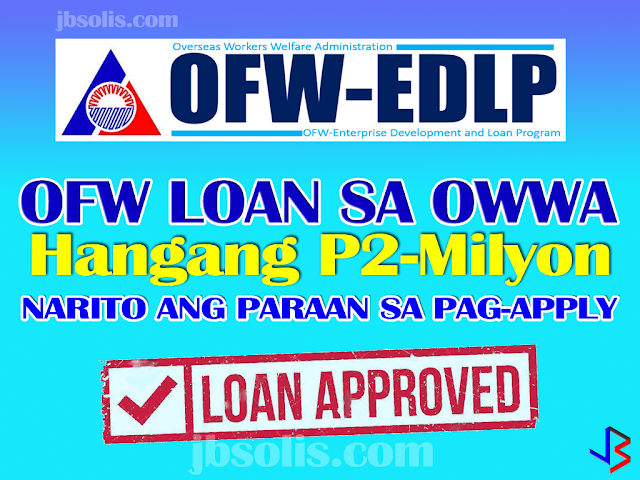 Enterprise development and loan program ofw loan of up Interest only construction loan