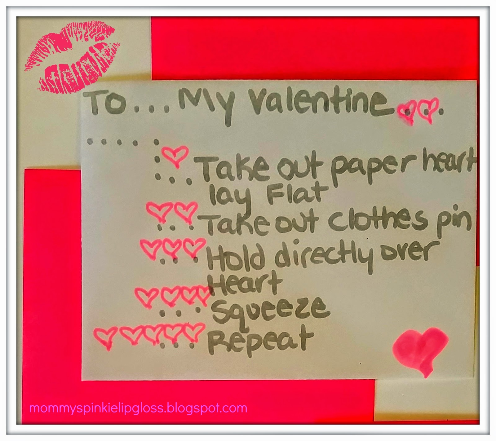 Valentines games from mommyspinkielipgloss.blogspot.com