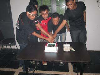 Pemotongan cake NOC MEDAN