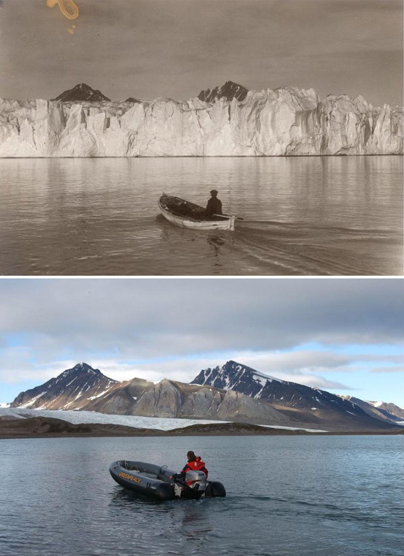 Inilah Foto Wujud Nyata dari Perubahan Iklim