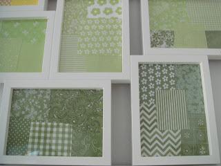 Rámovaný patchwork