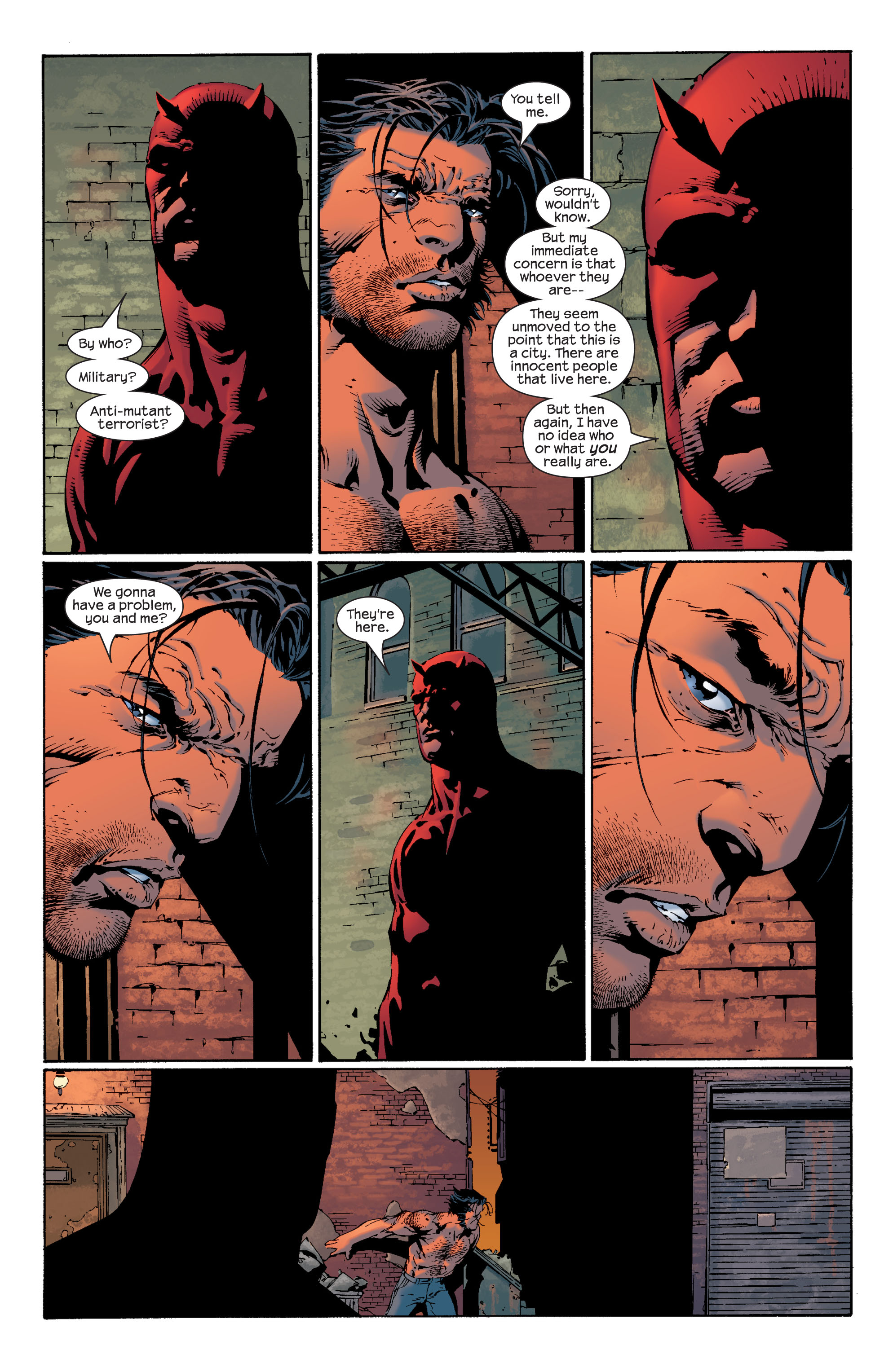 Read online Ultimate X-Men comic -  Issue #36 - 14