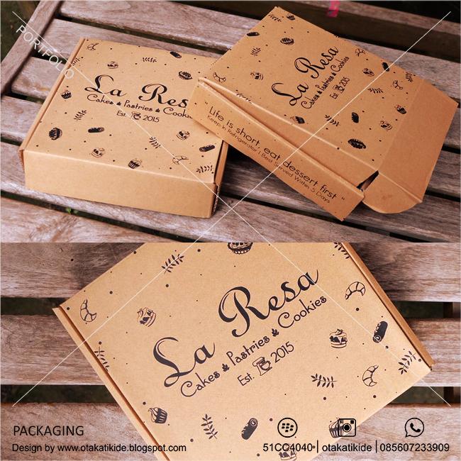 Desain Kemasan Pouch: Kemasan Box La Resa - Otakatikide