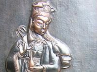 Relief Hindu Budha dari Kerajinan Tembaga | Kerajinan Relief Tembaga