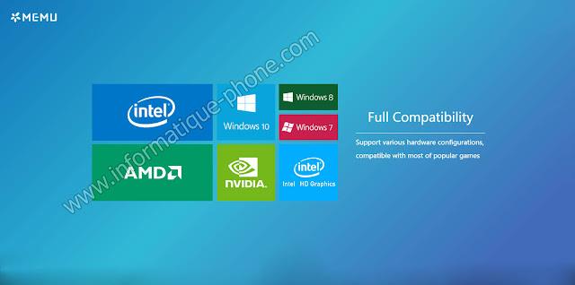 تحميل MEnu أفضل محاكي اندرويد لتشغيل العاب وتطبيقات علي الحاسوب