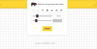 تصميم وطباعة ورق مسطر بأشكال متعددة مجانا بنقرة زر