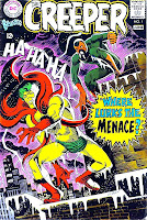 Beware the Creeper v1 #1 dc 1960s silver age comic book cover art by Steve Ditko