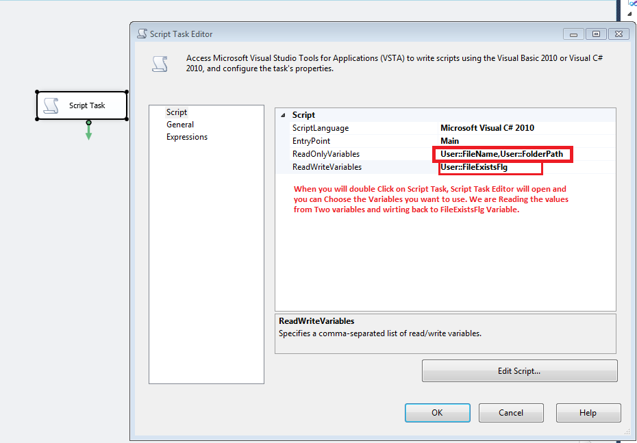 Welcome To TechBrothersIT: SSIS -How to Check IF File Exists