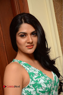 Sakshi Chaudhary Pictures in Short Dress at Selfie Raja Movie Song Launch ~ Celebs Next