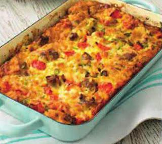 southern style breakfast casserole recipe