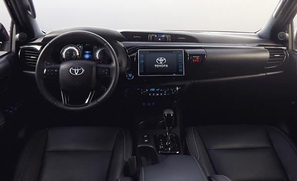 Interior Toyota Hilux 2019 Argentina
