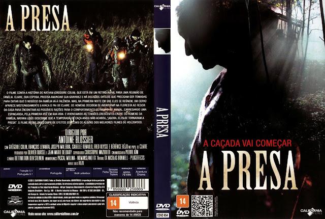 Capa DVD A Presa