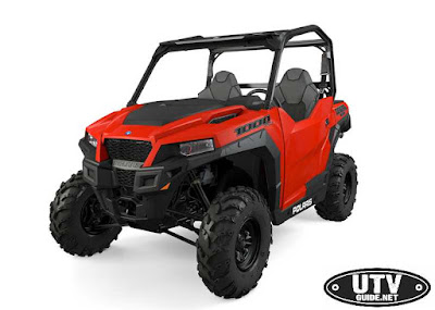 2016 Polaris GENERAL Indy Red