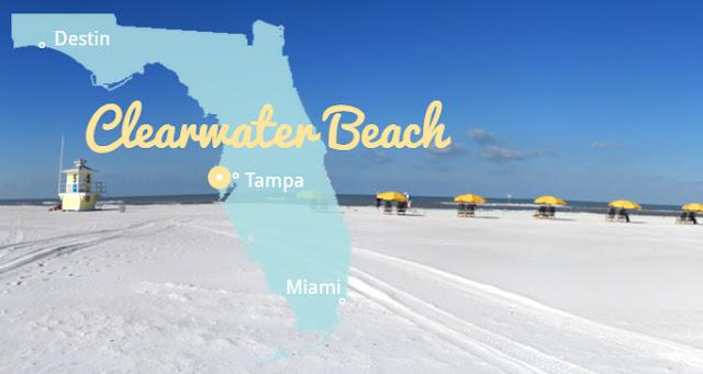Die weißesten Strände Florida's - Clearwater Beach