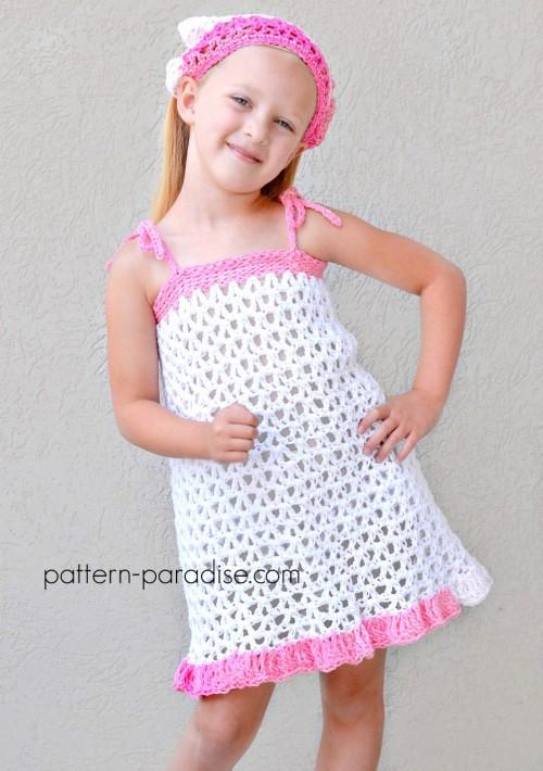 Summer Cheer Dress & Kerchief Set - Free Pattern
