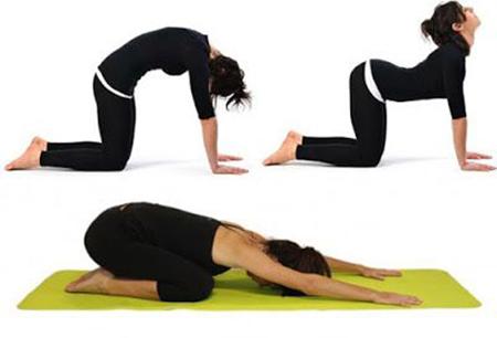 Bí quyết giảm mỡ lưng bằng các tư thế yoga